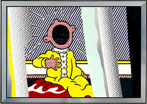 Roy Lichtenstein - Reflections on The Scream