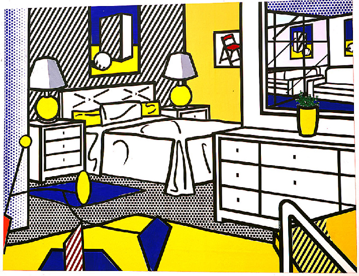 | Interior With Mobile by Roy Lichtenstein | BuyPopArt.com