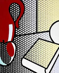 Roy Lichtenstein - Still Life with Red Pitcher