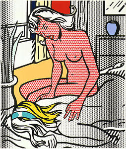 Roy Lichtenstein - Two Nudes