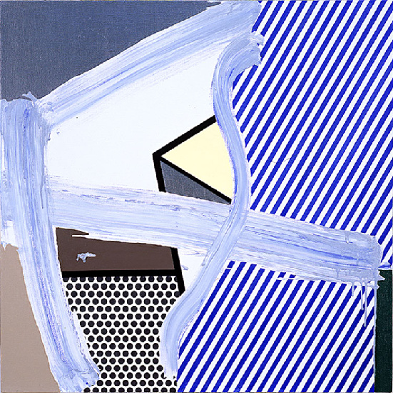 famous painting Brushstroke with Still Life VII of Roy Lichtenstein
