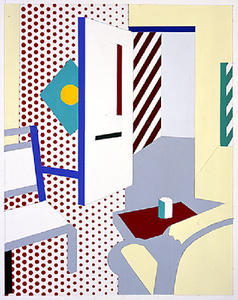 Roy Lichtenstein - Collage for Hologram Interior