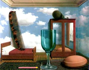 Rene Magritte - Personal values