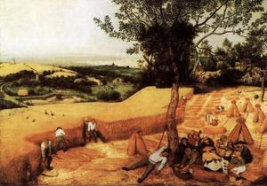 Pieter Bruegel The Elder - The Corn Harvest (August)