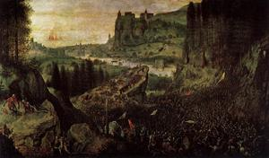 Pieter Bruegel The Elder - The Suicide of Saul