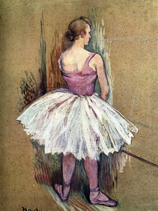 Order Paintings Reproductions Pop Art | Standing Dancer by Henri De Toulouse Lautrec | BuyPopArt.com