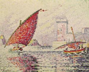Paul Signac - Fort Saint-Jean, Marseilles
