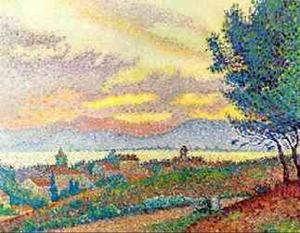 Paul Signac - View Of St Tropez