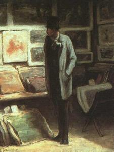Honoré Daumier - The Print Collector