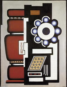 Fernand Leger - Ball bearing