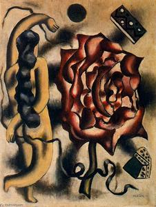 Fernand Leger - The woman in the pink