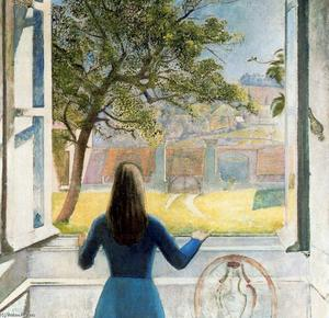 Balthus (Balthasar Klossowski) - Girl at the Window
