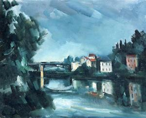 Maurice De Vlaminck - The Bridge
