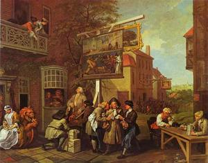 William Hogarth - Canvassing for Votes