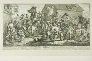 William Hogarth - Hudibras and the Skimmington, plate seven from Hudibras