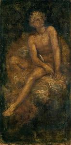 George Frederic Watts - Study for 'Hyperion'