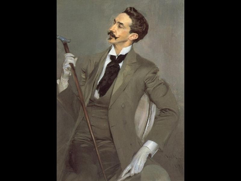 Order Art Reproductions Pop Art : Count Robert de Montesquiou by Giovanni Boldini | BuyPopArt.com