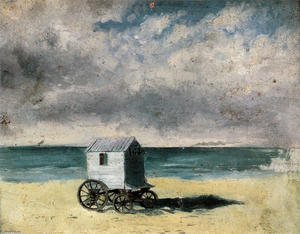 James Ensor - Bathing Hut
