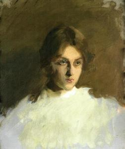 John Singer Sargent - Portrait of Edith French