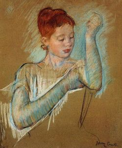 Mary Stevenson Cassatt - The Long Gloves