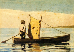 Winslow Homer - Boy In a Small Boat