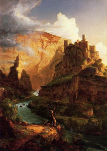 Thomas Cole - Valley of the Vaucluse