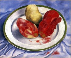 Frida Kahlo - Tunas (Still Life with Prickly Pear Fruit)