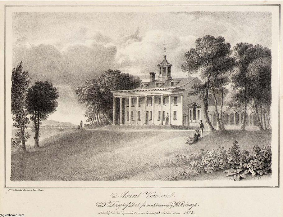 famous painting Mount Vernon of Thomas Doughty