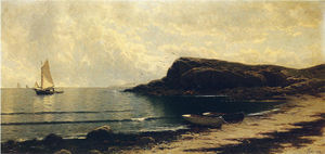 Alfred Thompson Bricher - Along the Shore 1