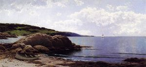 Alfred Thompson Bricher - Baily's Island, Maine