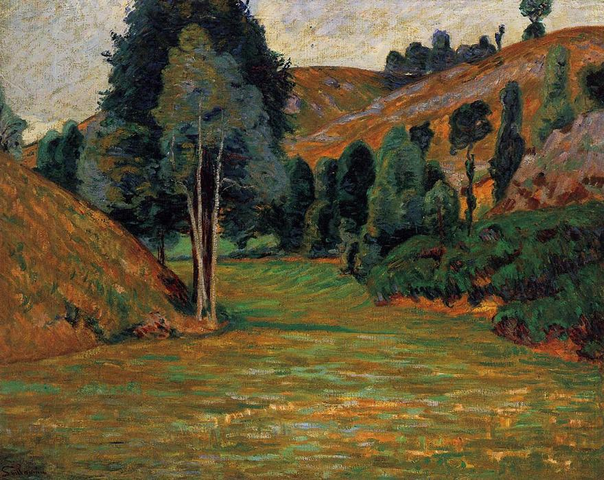 Order Art Reproductions Pop Art | Small Valley at Pontgibaud by Jean Baptiste Armand Guillaumin | BuyPopArt.com