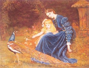 Arthur Hughes - Mrs. Grant Duff and Adrian