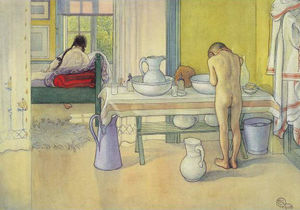 Carl Larsson - Summer Morning