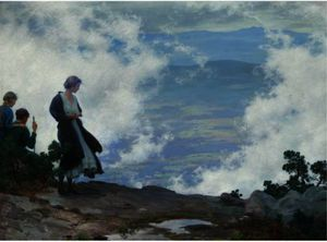 Charles Courtney Curran - After The Storm
