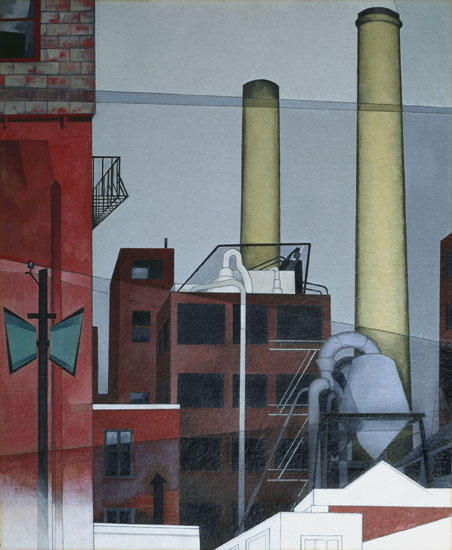 famous painting After All of Charles Demuth