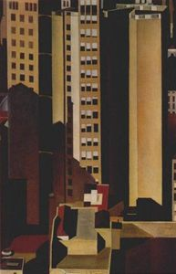Charles Rettew Sheeler Junior - Skyscrapers