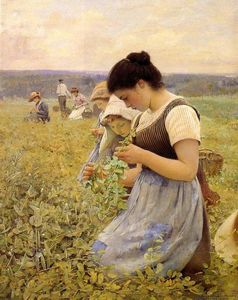 Charles Sprague Pearce - Women in the Fields