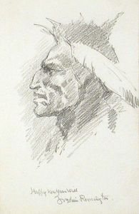 Frederic Remington - Indian Head 1