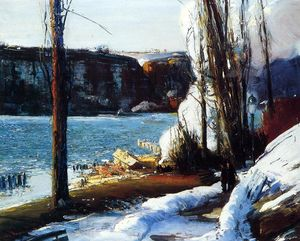 George Wesley Bellows - The Palisades