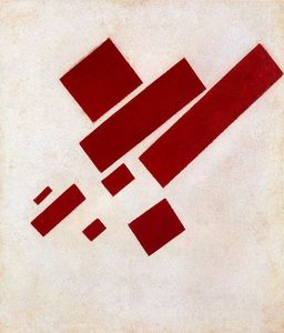 Kazimir Severinovich Malevich - Suprematist Painting. Eight Red Rectangle