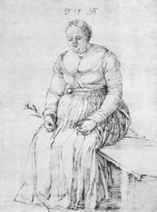 Albrecht Durer - Seated Woman