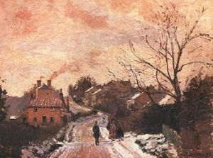 Camille Pissarro - Lower Norwood under Snow