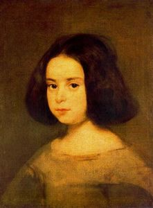 Diego Velazquez - Portrait of a Little Girl