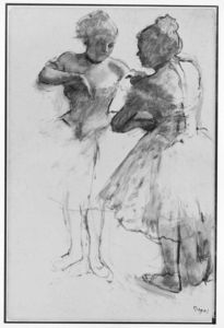 Edgar Degas - Two Dancers 4