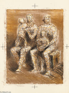 Henry Moore - Family Group