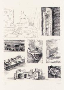 Henry Moore - Ideas for Sculpture 4