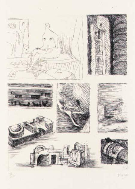 famous painting Ideas for Sculpture 4 of Henry Moore