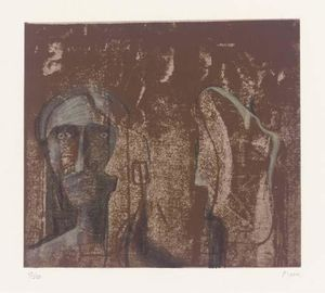 Henry Moore - Mary and Martha