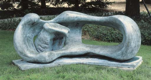 famous painting Reclining Mother and Child of Henry Moore