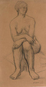 Henry Moore - Seated girl